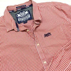 Super dry | Button Down Plaid Shirt XL